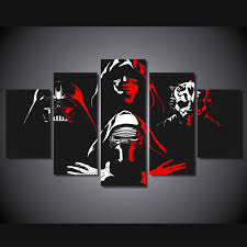 movie home decor unframed hd canvas painting darth maul star wars movie poster wall