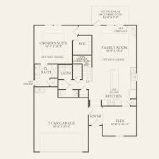 Avalon Floor Plan by Mallory At Avalon In Pflugerville Texas Pulte