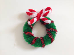 pipe cleaner wreath in 3 easy steps chenille stems