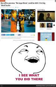 Lego Movie Memes - the lego movie by recyclebin meme center