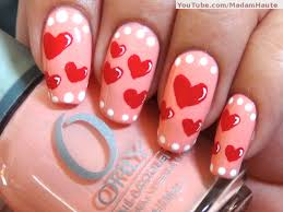 21 heart nail designs for valentine u0027s day