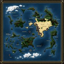 World Map Labeled Xenogears World Map Labeled By Sub Thermal On Deviantart