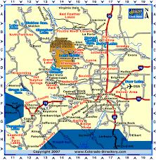 central colorado map co vacation directory