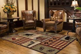 Menards Outdoor Rugs Designers Image Lodge Area Rug 53 X 73 At Menards Throughout Area