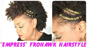 hair jewels empress frohawk festival party hairstyles