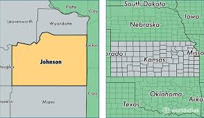 map of counties in kansas johnson county kansas map of johnson county ks where is