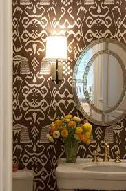 Wallpaper For Bathroom Ideas by Bathroom Wallpaper Ideas
