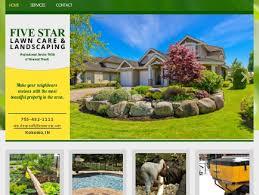 Five Star Landscaping by Five Star Lawn Care U0026 Landscaping U2013 Lawn Care Kokomo In