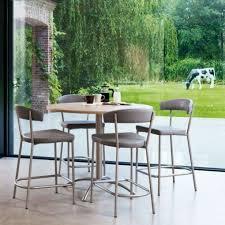 table de cuisine hauteur 90 cm table de cuisine ronde en stratifié hauteur snack 90 cm laser