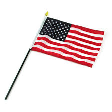Us Flag Vector Free Download American Flag On A Pole Clipart 44