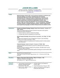 Profile Sample Resume by 28 Sample Resume S Free Resume Samples A Variety Of Resumes
