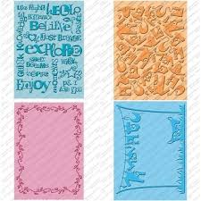 cricut cuttlebug plus perforated postage alpha 5x7 in embossing
