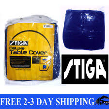 stiga deluxe table tennis table cover stiga t1585 deluxe ping pong table cover ebay