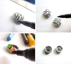 diy button earrings a splendid assemblage diy geometric fabric button earrings