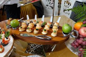baked canapes pws puteri wedding services exclusive canapes live station