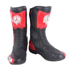 scoyco mr001b moto racing leather motorcycle boots shoes motorbike