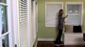 decorating plantation blinds lowes wood blinds lowes bay