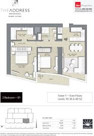 floor plans by address floor plans the address residences dubai opera by emaar