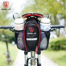 siège vélo é roue up 2 poches vélo sac vélo sac de selle pour vtt vélo de route