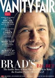 New Vanity Fair Cover Brad Pitt Smiles Serenely On New Vanity Fair Cover Despite