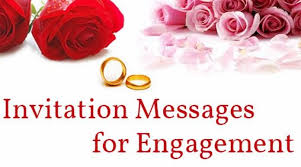 hindu engagement invitations invitation messages for engagement sle engagement invitations