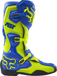 dirt bike trail boots fox racing new 2017 mx comp 8 enduro dirt bike yellow blue