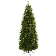 slim 7 5 foot tree with clear lights free