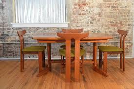 teak trestle dining table danish teak trestle base dining table with butterfly leaf