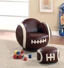 baseball chair and ottoman set picturesque baseball chair and ottoman set ideas football kids