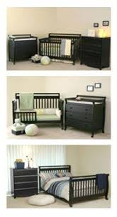 Convertible Crib Set Davinci 3 Nursery Set Autumn 4 In 1 Convertible Crib