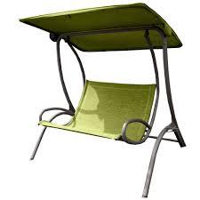 Double Swing Leisuregrow Dali Double Swing Seat Green U2013 Garden Trends