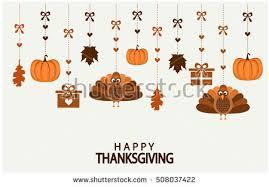 thanksgiving card vector illustration stock vector 339750932