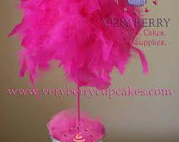 Feather Vase Centerpieces by Feather Centerpiece Etsy
