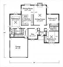 split ranch floor plans plan 62645dj split bedroom starter home square ranch house