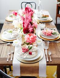 brunch table you ll never guess the inspiration behind this chic holiday brunch