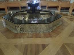 baptismal pools baptismal pool and font picture of the cathedral basilica of st