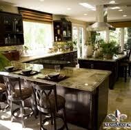 Dark Espresso Kitchen Cabinets Pictures Of Kitchens U2013 Traditional U2013 Dark Espresso Kitchen