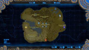 The Legend Of Zelda A Link Between Worlds Map by Breath Of The Wild Walkthrough U2013 Great Plateau U2013 Zelda Dungeon