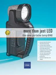 portable lamp 6148 r stahl pdf catalogue technical