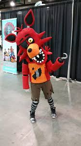 foxy costume this kid had a pretty awesome foxy five nights at freddy s