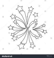 firework icon illustration design stock vector 511341115