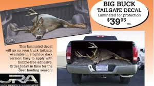 hunting truck decals best deer decal ever bowhunting com
