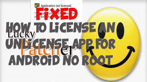 android license how to license an unlicensed app android no root