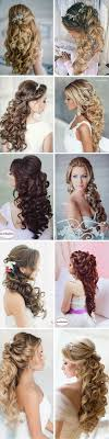 hair wedding styles 100 wedding hairstyles 2018 curls half up updos