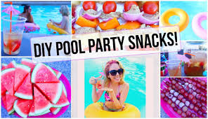 Easy Summer Entertaining Menu Summer Pool Party Snacks Youtube