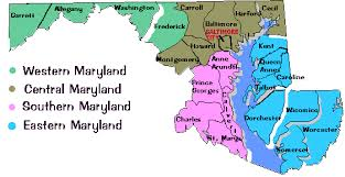 me a map of maryland maryland state parks state parks in md