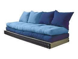 sofa matratze karup loungesofa blau chico 2x tatami matte 2x futon matratze