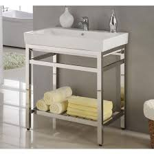 Bathroom Console Bathroom Sink Cabinets With Legs Www Islandbjj Us