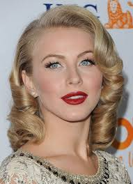 what kind of hairstyle does julienne huff have in safe haven julianne hough hairstyles retro curls pretty designs