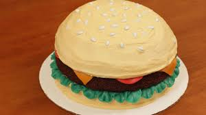 how to make a hamburger cake nerdy nummies youtube